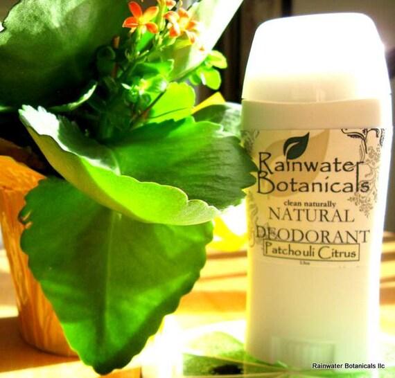 Patchouli Citrus Natural Deodorant closout sale