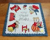 The Three Bears Handkerchief