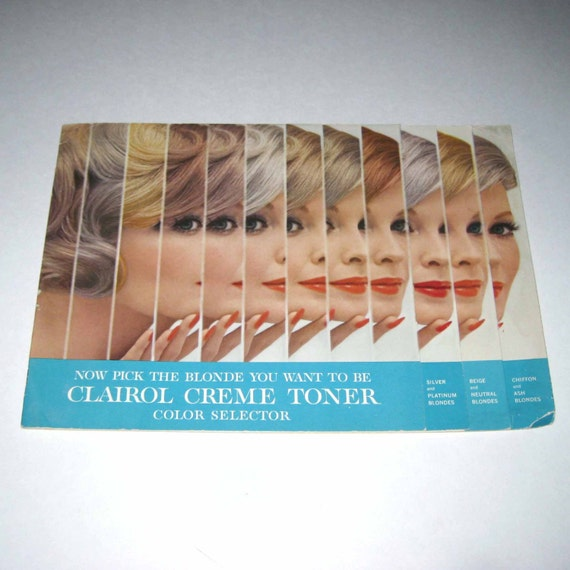 Clairol Hair Color Swatch Book