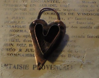 Copper Heart Bezel Made to Order