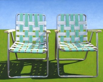 Two in Turquoise - limited edition archival print 22/100