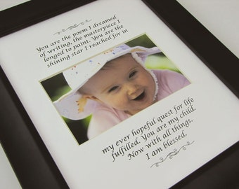 You are the poem I dreamed of -  8 X 10 Picture Photo Mat Design M88
