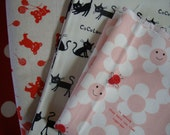 Kawaii Japanese fabric bundle 2