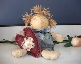 Primitive Needful Gourd Doll