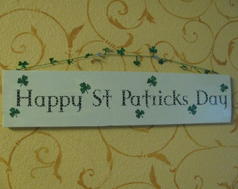St. Patricks Day Sign
