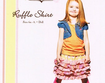 Little Lizard King Ruffle Skirt Sewing Pattern ON SALE