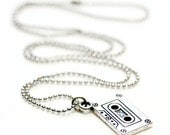 SUMMER CLEARANCE RETRO Cassette Tape Pendant