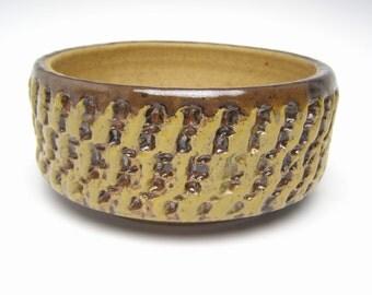Handmade Pottery Planter pot Stoneware planter ceramic succulent Planter  cactus planter herb plant pot  6 x 2 3/4  erp-17