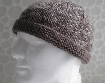 Beanie Knitting Pattern Straight Needles : Unavailable Listing on Etsy