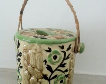 vintage Japanware porcelain biscuit jar