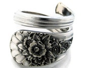 Wrapped Spoon Ring Choose Your Size Jubilee