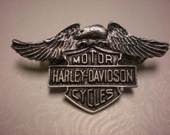 vintage harley davidson pin. GREAT SHAPE