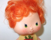 Vintage Apple Dumpling Strawberry Shortcake Doll, Movie Character, Girls doll gift