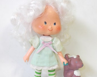 Vintage Angel Cake and Souffle Skunk Strawberry Shortcake Doll