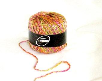 yarn, Venus 52, Stacy Charles, multicolor, C, destash