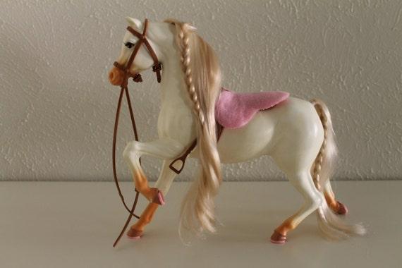 Vintage Barbie Blinking Beauty Horse
