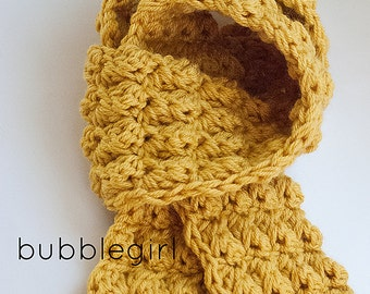 Crochet Pattern - Textured Scarf