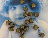Tibet Brass Ox Bells Charming for charms 601BOX x10