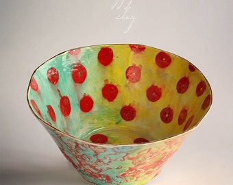 Large Ceramic Serving Bowl Available in 14 days