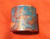 Oxidized Copper Cuff