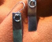 Swingy Two- Toned Earrings