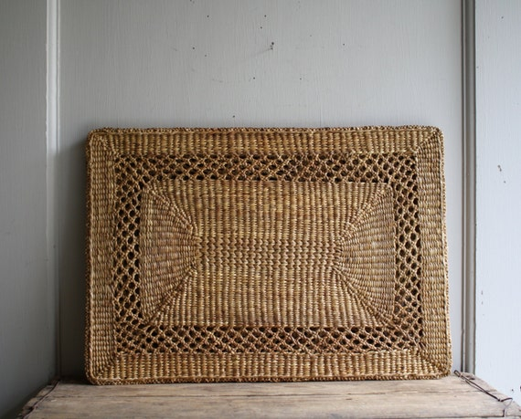 Woven Straw Placemats Set Of Four