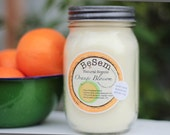 Orange Blossom, one natural, clean burning soy candle