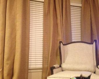 burlap sheers french door drapes burlap curtains french