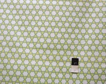 Annette Tatum AT61 Bohemian Clover Avocado Cotton Fabric 1 Yard