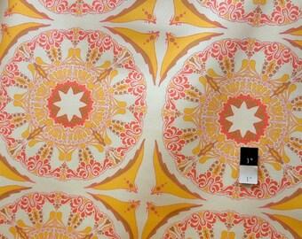 Tina Givens SATG001 Lilliput Fields Suzani Mod Sundapple Cotton HOME DECOR Fabric 1 Yard