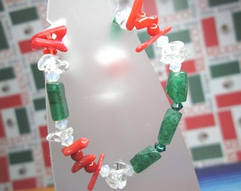 Cinco De Mayo Gemstone Bracelet