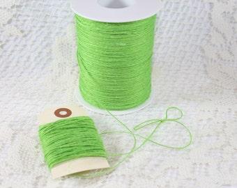 Bright Green Rustic Twine - String