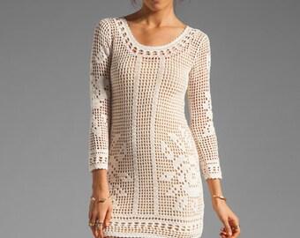 MADE TO ORDER  summer crochet dress  RI90 - Replica