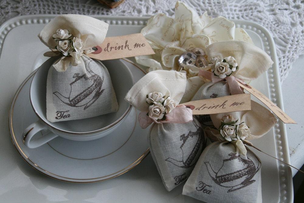 Wedding Favor Alice In Wonderland Wedding Or Party Tea