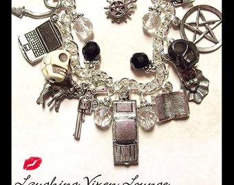 SW Supernatural Jewelry - Supernatural Protection Charm Bracelet Deluxe SW Edition - Supernatural Bracelet