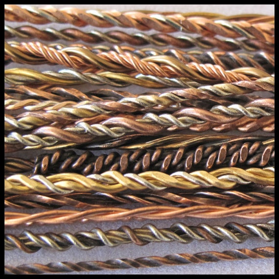 Tutorial Twisted In Wire By ChellesArtGlass On Etsy