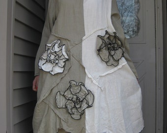 CUSTOM ORDER for Mary Jo Bayles Wavy Flower Tunic