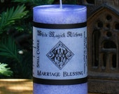 MARRIAGE BLESSING Candle 2x3 Pillar