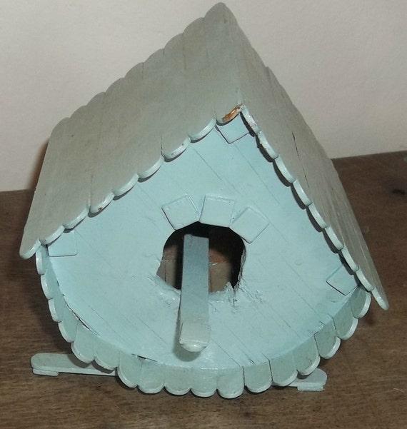 Maison D 39 Oiseau Bleu Ciel Vintage Popsicle Par
