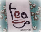 Tea for Kitchen Embroidery Design