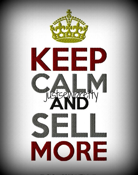 Keep Calm And Sell Sell Sell