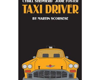Taxi Driver movie poster in various sizes