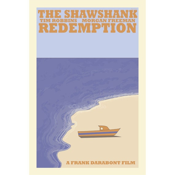 The Shawshank Redemption movie poster in various sizes