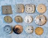 Dozen Vintage Watch Faces (WPF1276)