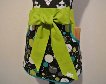 Adult Half Apron with Pockets
