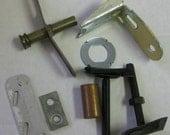 Vintage Metal House Renovation Parts Supplies for Altered Art Steampunk Machine 8 pcs