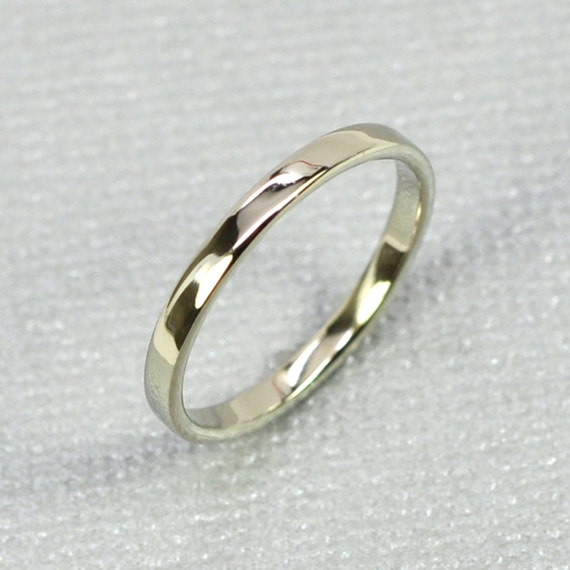 White Gold Wedding Band, 14K White Gold Skinny Ring, 2mm, size 6.25-9 this listing, Sea Babe Jewelry