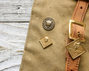 Vintage Cub Scout Pins and Charm