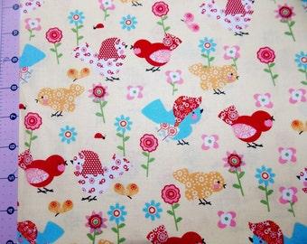 Mama Bird Fabric By The Yard