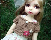 PATTERN to Knit Summer Shrug for SD Size Dolls
